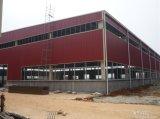 조립식 가벼운 강철 헛간 또는 공장 창고 작업장 강철 구조물 건물