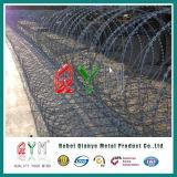 移動式機密保護かみそりの障壁/とげがあるテープアコーディオン式かみそりワイヤー障壁