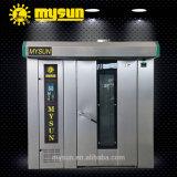 Forno rotativo elettrico di convezione del gas diesel S.S dei cassetti dei cassetti 64 dell'aria calda 32 con Ce ISO9001