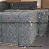 Muro di sostegno tessuto maglia del cestino della roccia di Galfan Gabion