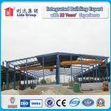Fornecedor portal da oficina da construção de aço do frame