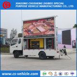 トラックを広告するFoton P8 P10 LEDスクリーンの小さい可動装置LED