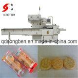 Máquina de embalagem do fluxo do biscoito