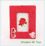 Marco de San Valentín regalo de la foto del marco del rosa rojo de fotos