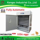 Haute qualité des oeufs de volaille incubateur entièrement automatique