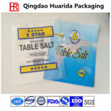 Saco de embalagem de sal do mar cristalino / Stand up Table Salt Packaging