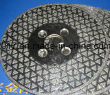 350mm Electroplated Diamond CBN Hoja de corte fino