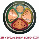 Zr-Yjv 0.6 / 1kv / Cabo de alimentação de resistência à chama
