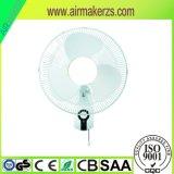 ETL anerkannte Plastikgeschwindigkeit der schaufel-3 16 Zoll-Wand-Ventilator