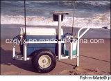 Caminhão de pesca de alumínio de tamanho médio Produto de pesca de carrinho de praia