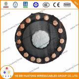 faisceau du Cu XLPE Cts 3 de 5kv 35kv avec le câble d'Urd de fil de masse