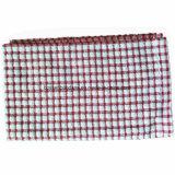 L'abitudine dei prodotti dell'OEM controlla i tovaglioli di tè rossi della cucina del Terry del cotone del jacquard