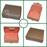Caixa personalizada do encarregado do envio da correspondência do papel ondulado da impressão para a afixação