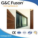 Finestra di vetro della tenda del blocco per grafici di alluminio di fabbricazione e di vendita della fabbrica di Guangzhou Cina per usato