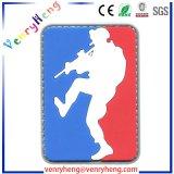 中国Supplier Custom PVC Rubber Companyのロゴパッチ