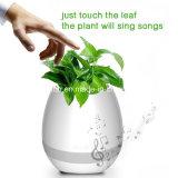 꽃 플랜트 LED 빛을%s 가진 지능적인 음악 남비 Bluetooth 스피커