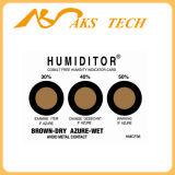 El Rh5% - el 60% tres etiquetas engomadas del indicador de la humedad de la tarjeta del indicador de humedad de los puntos