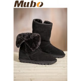 Ботинки снежка зимы Unisex овчины теплые
