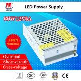 12V 5A Ein-Outputstromversorgung 60W SMPS