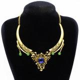 短いヒマワリの緑の宝石類の真珠のネックレス、ファッション小物