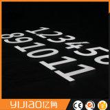 Cartas de acrílico al aire libre impermeables modificadas para requisitos particulares del Lit LED de la cara de visualización de la publicidad mini