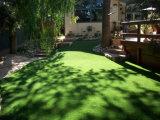 4 ألوان اصطناعيّة عشب حديقة سياج لأنّ حديقة