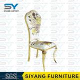 Gaststätte-Möbel, die das Stuhl-Edelstahl-Stuhl-Gewebe speist Stühle speisen