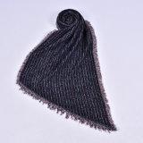 210 mulheres*70cm reversível de acrílico Cashmere como tecidos de malha grossa quente de Inverno Lenço Xale (SP260)