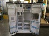 Frigorifero incorporato del congelatore solare migliore con la serratura ed il prezzo di tasto