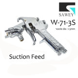 Sawey W-71-3s 수동 손 페인트 분무 노즐 전자총
