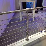 Balustrade de Rod d'acier inoxydable/pêche à la traîne solides extérieures Rod de porche
