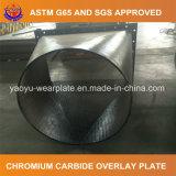 Lamiera d'acciaio di usura della saldatura della sovrapposizione per materiale che passa strumentazione