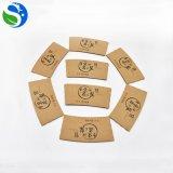 Manicotto imballato con carte stampato abitudine della tazza di caffè