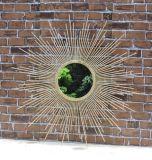 Specchio di vetro del più nuovo Nizza dell'annata 2017 metallo decorativo ovale superiore poco costoso ecologico dell'annata