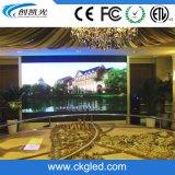 P5 pantalla de visualización fija de interior de pared de la instalación LED