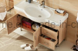 純木の家具の米国式の現代浴室の虚栄心(ACS1-W93)