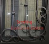 Morden Lowes en fer forgé extérieur simple porte en fer avec l'écran