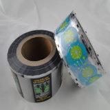 Rolo de película personalizado do plástico da folha de alumínio para o saco de empacotamento