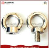 Noix d'oeil des blocs filetés DIN582 d'acier inoxydable