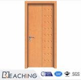 Fait sur commande étanche à l'humidité des graines de PVC de porte en bois de vinyle pour l'appartement