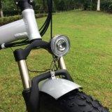 bicicleta elétrica do pneu 20inh gordo Foldable