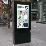 Рекламировать Signage LCD цифров экрана касания индикации напольный