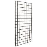 Acabado en cromo negro o el cable del panel Gridwall