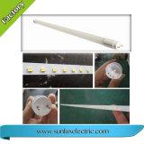 T8 LED 관 빛, LED 가벼운 관, 관 전등 설비 18W 1.2m, 보장 2 년