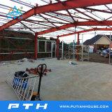 Один склона сегменте панельного домостроения в стальные конструкции здания для гаража