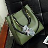 2018年のFashion PU女性革デザイナー2 PCSセットのハンドバッグ
