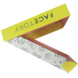 صفراء وورقة رخيصة يغضّن صندوق لأنّ هبة تعليب