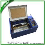 Minilaser-Maschine 40W für Stempel-Blatt-Acryl