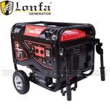 EPA 6500 watt di generatore silenzioso della benzina con le maniglie e le rotelle