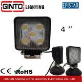 Éclairage léger Gt2010-15W de travail du camion DEL de véhicule d'entraînement d'endroit/inondation 4 ''